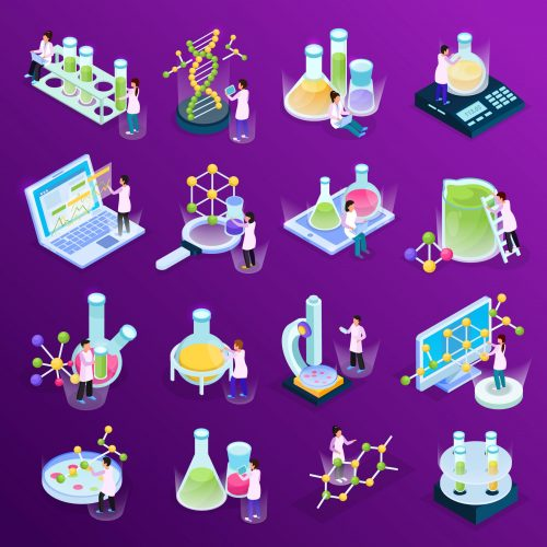 Design of experiments icons